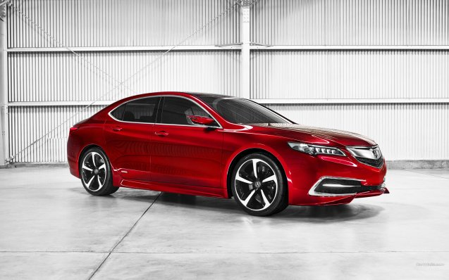 2014 Acura TLX Concept Wallpaper