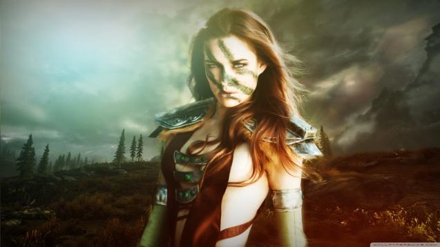 Aela The Huntress - Skyrim HDV Wallpaper