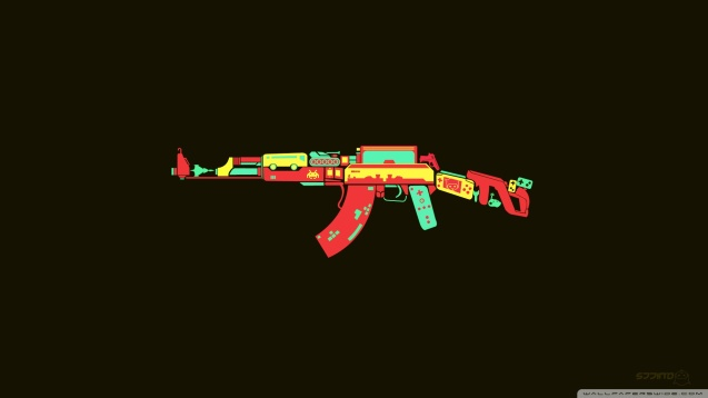 AK-47 HD Wallpaper