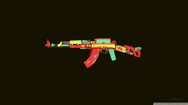 AK-47 HD Wallpaper