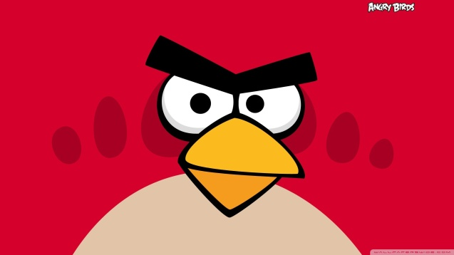 Angry Birds - Red Bird Wallpaper