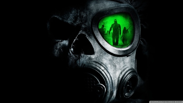 Army Gas Mask HD Wallpaper