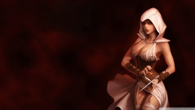 Assassins Creed Girl Wallpaper
