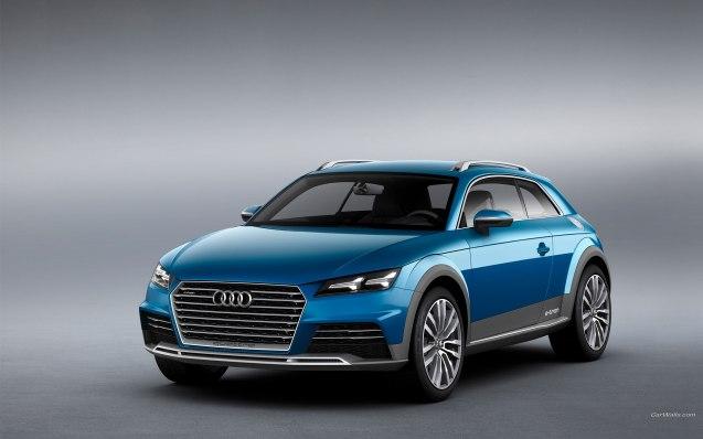 2014 Audi Allroad Shooting Brake Concept Wallpaper