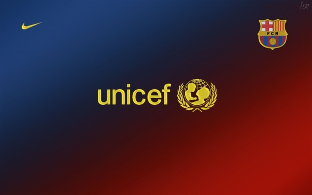 Barcelona Unicef HD Wallpaper