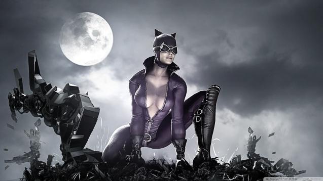 Batman Arkham City - Sexy Catwoman Wallpaper
