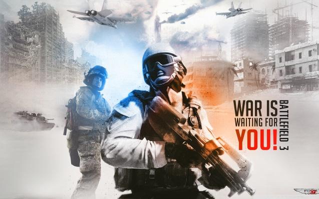 Battlefield 3 Background Wallpaper