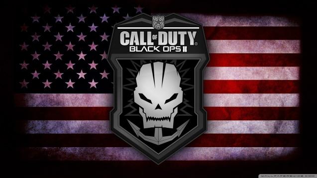 Black Ops 2 US Flag Wallpaper