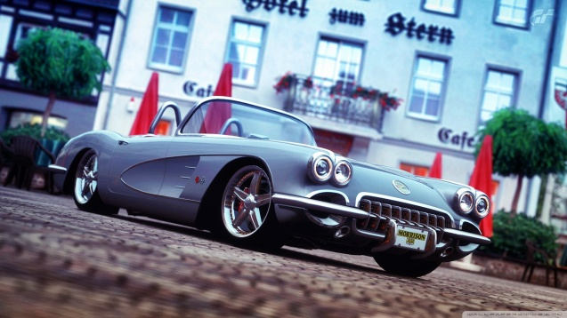 Classic Corvette Gran Turismo 5 Wallpaper