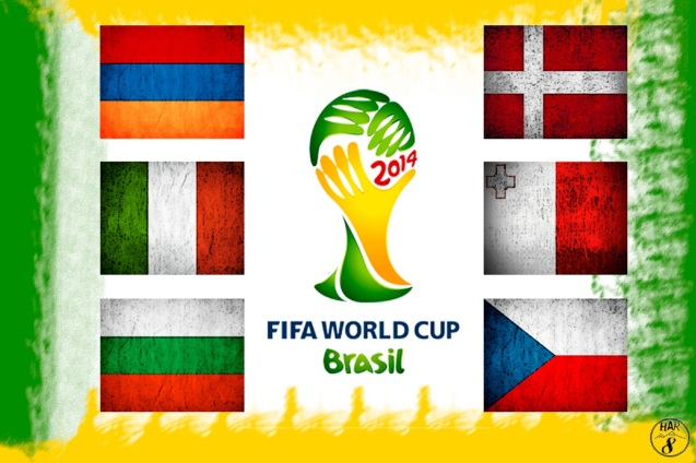 Countries Fighting For FIFA World Cup 2014