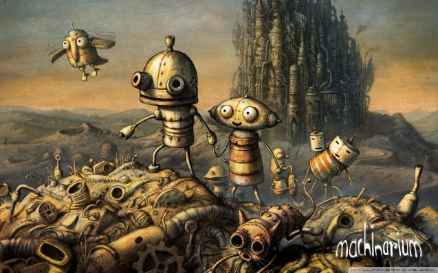Machinarium Game Wallpaper