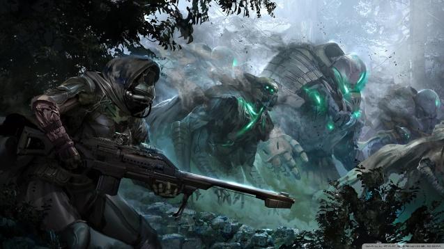 Destiny - Dark Patrol Wallpaper