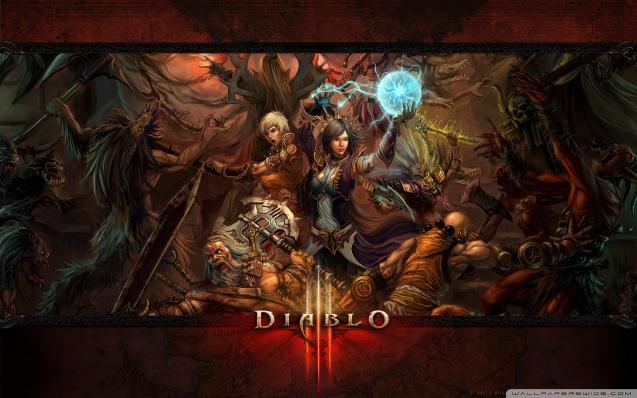 Diablo III - Bloody Battle Wallpaper