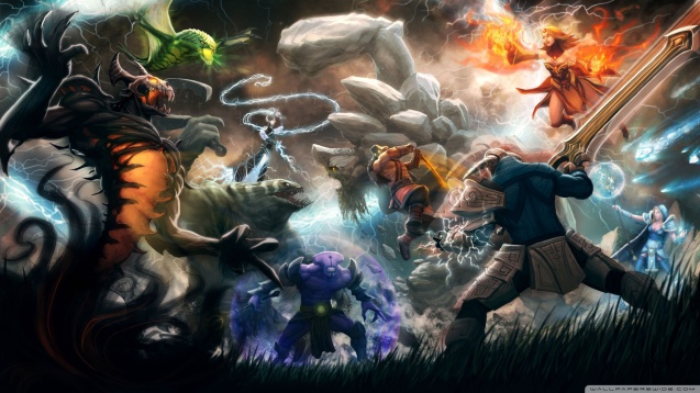 Defense of the Ancients DotA 2 HD Wallpaper