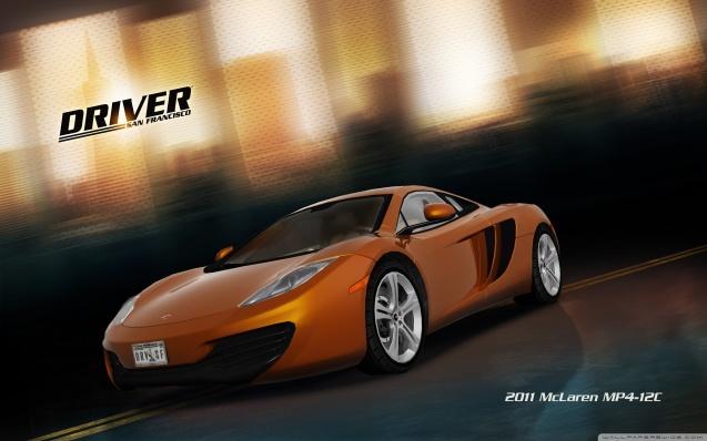 Driver San Francisco 2011 McLaren Mp4 12C Wallpaper