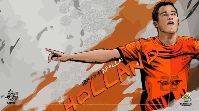 Dutch National Football Team Ibrahim Afellay Wallpaper
