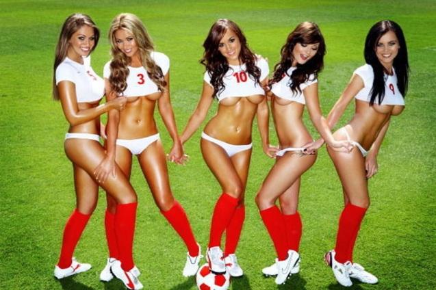 England Soccer Babes HD Wallpaper