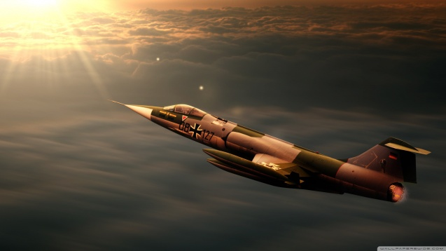 F104 Starfighter Jet HD Wallpaper