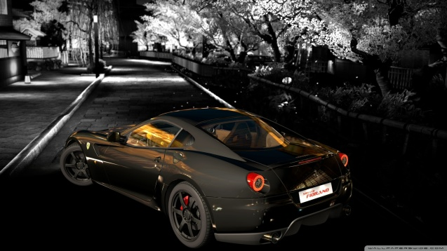 Gran Turismo Ferrari 599 GTO Wallpaper