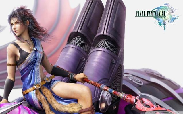 Final Fantasy XIII FFXIII Fang-Bahamut wallpaper