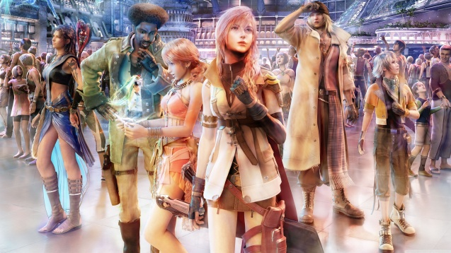 Final Fantasy XIII Group on Nautilus Wallpaper