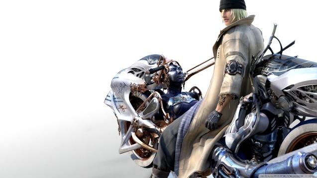 Final Fantasy FFXIII Snow and Shiva Wallpaper