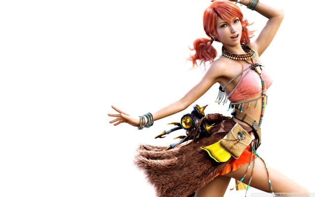Final Fantasy Girls FFXIII Vanille Wallpaper