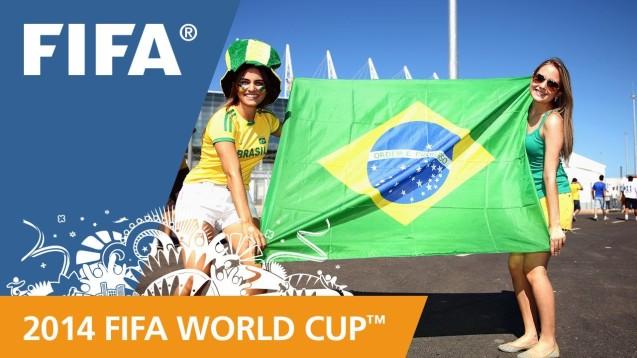 FIFA World Cup 2014 Desktop Wallpaper