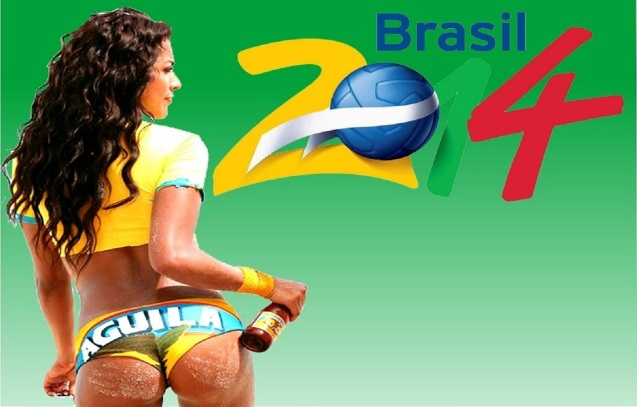 FIFA World Cup 2014 Sexy Girl HD Wallpaper