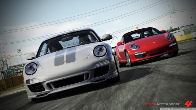 Forza Motorsport 4 Porsche Wallpaper