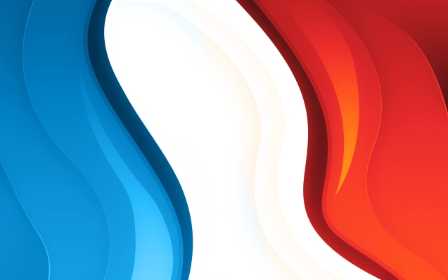 French Tricolour Wallpaper