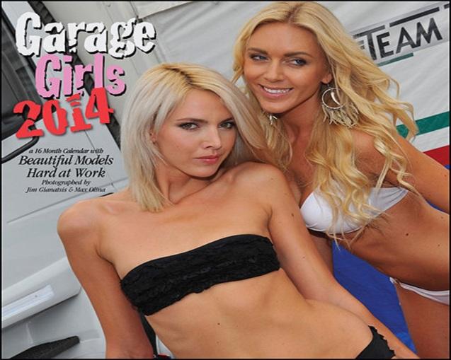 2014 Garage Girls Poster Calendar