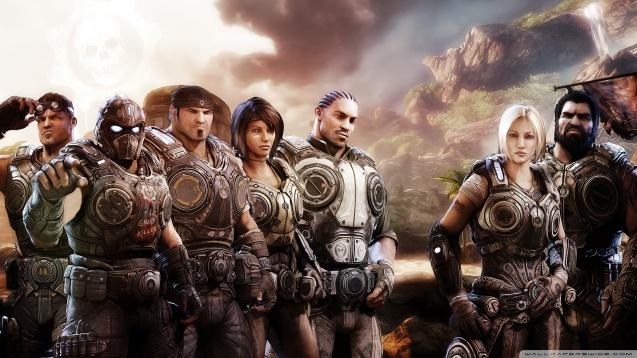 Gears Of War 3 Team Wallpaper