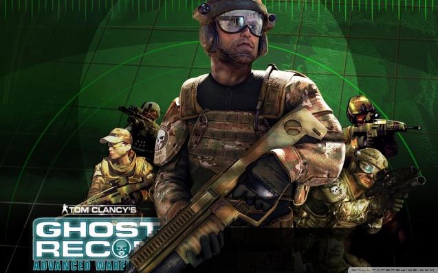 Ghost Recon 3 Advanced Warfighter Wallpaper