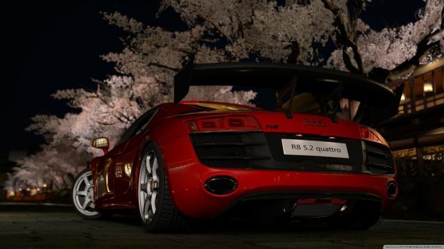 Gran Turismo 5 Audi R8 5 2 Quattro Wallpaper