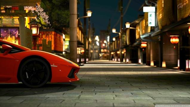 Gran Turismo 5 Lamborghini Aventador Wallpaper