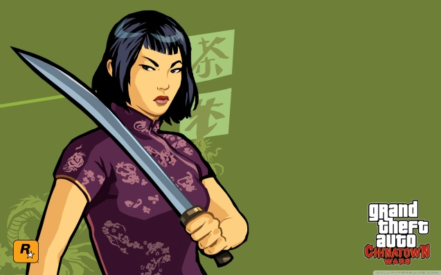 Grand Theft Auto Chinatown Wars Sexy Ling Wallpaper