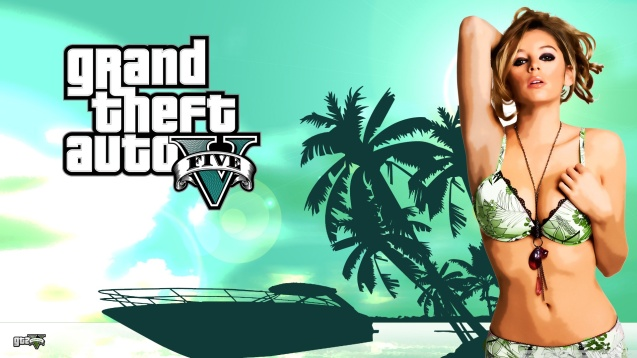 Grand Theft Auto V Sexy Girl Wallpaper