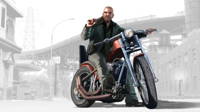 Grand Theft Auto GTA Motorcycle Wallpaper