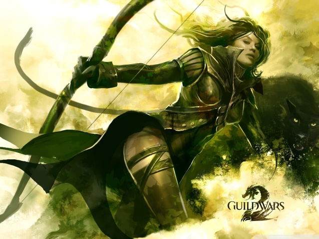 Guild Wars 2 Sexy Ranger Wallpaper