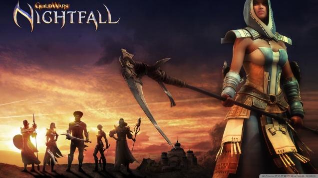 Guild Wars Nightfall – Sexy Dervish Wallpaper