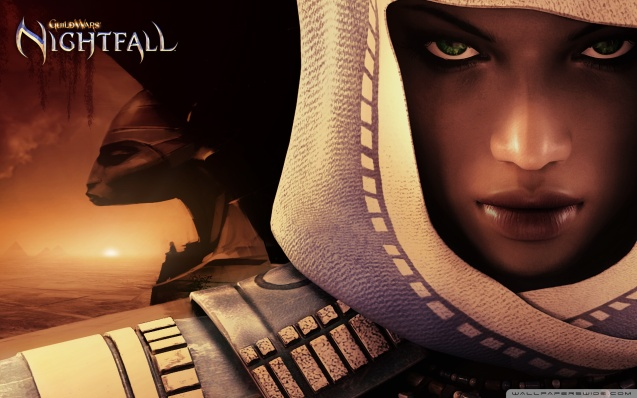 Guild Wars Nightfall - Dervish Closeup Wallpaper