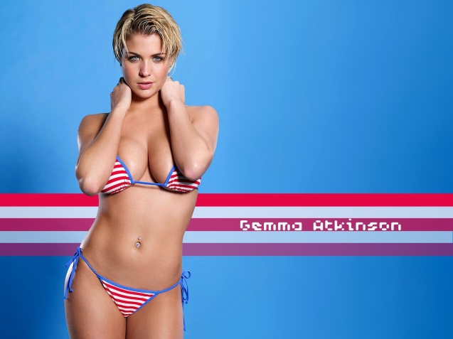 Hot Sexy Bikini Gemma Atkinso HD Wallpaper