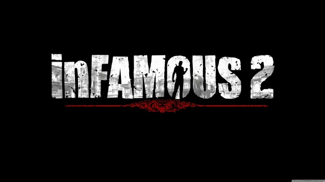 inFAMOUS 2 Logo HD Wallpaper