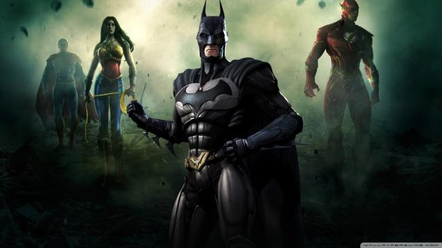 Injustice Gods Among Us - Batman HD Wallpaper