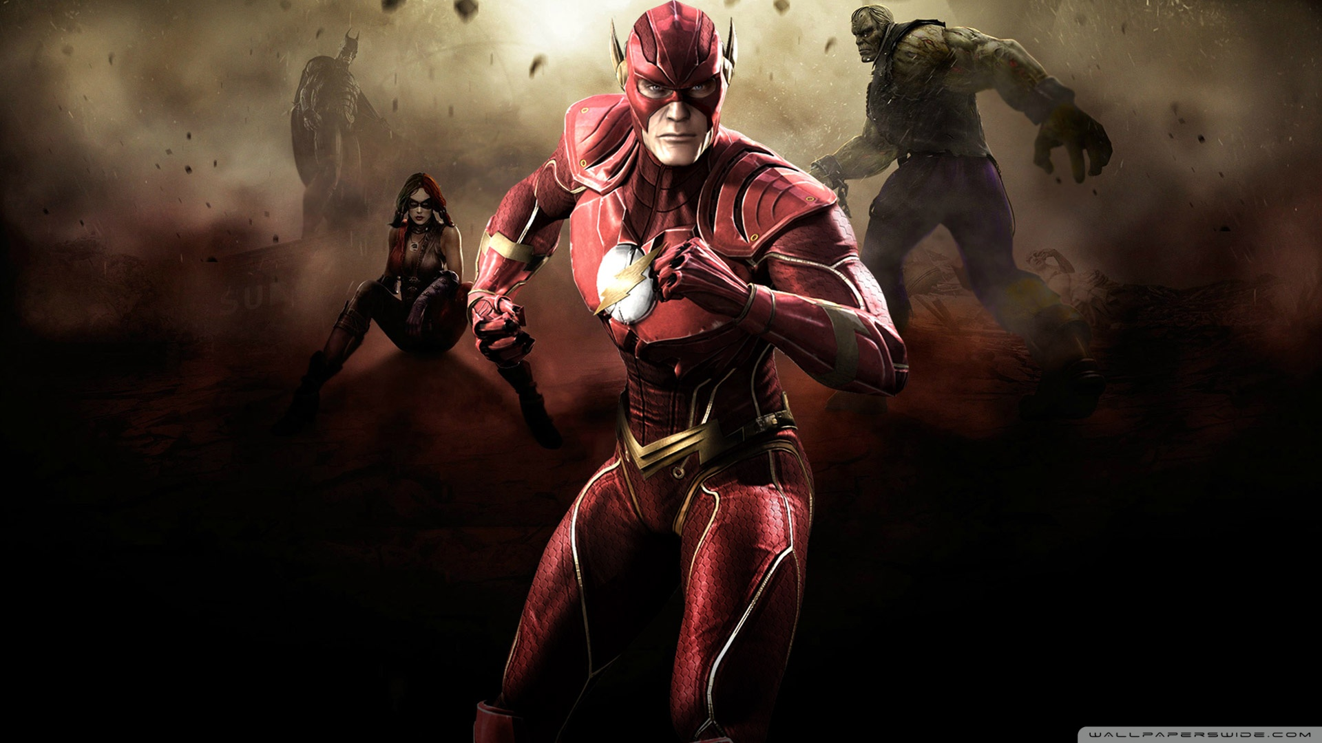 Injustice Gods Among Us Flash Hd Wallpaper Wallpaperlistscom