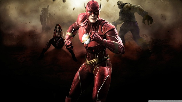 Injustice Gods Among Us - Flash HD Wallpaper