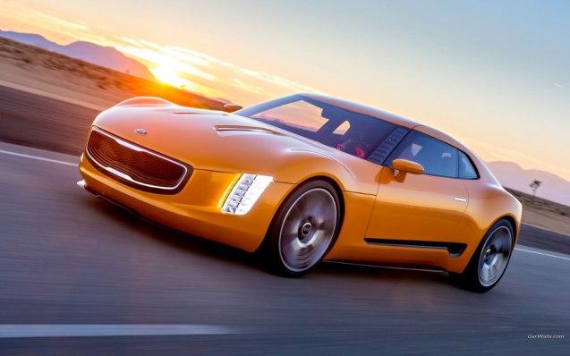 2014 Kia GT4 Stinger Concept Wallpaper