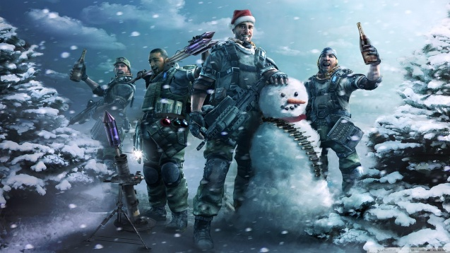 Killzone 2 Merry Christmas Wallpapers