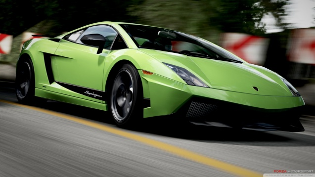Lamborghini Gallardo in Forza Motorsport 4 Wallpaper